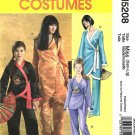McCall's Sewing Pattern 5208 Misses Size 4-18 Asian Costumes Tunic Wrap Top Pants