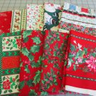 Moonwishes Stash Builders Christmas Fat Quarters #MW-CSB-001 Assorted Handcut Fabrics