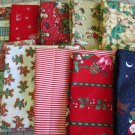 Moonwishes Stash Builders Christmas Fat Quarters #MW-CSB-005 Assorted Handcut Fabrics