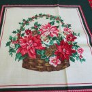 "Moonwishes Stash Builders Christmas 2 15"" x 15"" Christmas Basket Pillow Top #003 Cotton"