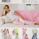 Simplicity Sewing Pattern 0649 5923 Misses Size XS-XL Pajamas Pants Slippers Top Blanket Bag