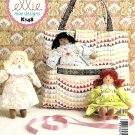 Kwik Sew Sewing Pattern K148 0148 Ellie Mae Rag Stuffed Dolls Totebag
