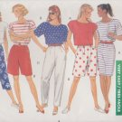 Butterick Sewing Pattern 4126 B4126 Misses Size 6-14 Easy Classic Wardrobe Top Skirt Shorts Pants