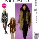 McCall's Sewing Pattern M7484 7484 Misses Size 8-16 Easy Khaliah Ali Cardigan Vest