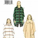 Vogue Sewing Pattern 9211 V9211 Misses Sizes 16-26 Easy Capes Snap Closure Collar Options