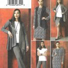 Vogue Sewing Pattern 9215 V9215 Misses Sizes 4-14 Easy Wardrobe Jacket Dress Top Vest Skirt Pants