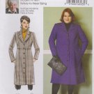 Butterick Sewing Pattern 6430 B6430 Misses Sizes 3-16 Connie Crawford Raised Waist Coat