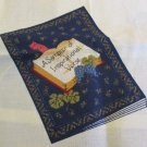 Moonwishes Stash Builders Fabric Panel Cloth Book of Inspirational Verse Fabric Traditions MWCS#006