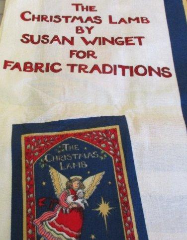 Moonwishes Stash Builders Christmas Lamb Susan Winget Fabric Panel MWCS#008