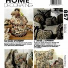 McCall's Sewing Pattern 6778 M6778 Home Decor Touch of Tapestry