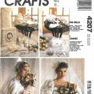 McCall's Sewing Pattern 4207 M4207 Crafts Wedding Bells Accessories Gloves Hanky