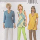 Butterick Sewing Pattern 4553 B4553 Misses Size 16-22 Easy Wrap Front Top Long Cropped Pants