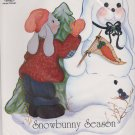 Ragamuffins Iron-On Transfer 4178 Snowbunny Season Mary Darrow