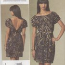 Vogue Sewing Pattern 1207 V1207 Misses Size 6-12 Cynthia Steffe Cap Sleeve A-Line Dress