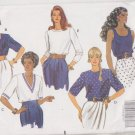 Butterick Sewing Pattern 5278 B5278 Misses Size 12-16 Easy Classic Pullover Tops Sleeve Neck Options