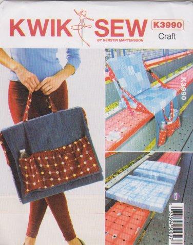 Kwik Sew Sewing Pattern 3990 K3990 Take Along Stadium Seat