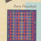 "Party Pinwheels #MU24 University Moda 59"" x 70"" Patchwork Quilt"