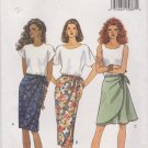 Butterick Sewing Pattern 6715 B6715 Misses' Sizes 18-22 Easy Wrap Look Straight Skirt Skorts Shorts