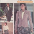 Butterick Sewing Pattern 6715 B6715 Misses' Sizes 18-22 Jacket Skirt Blouse Suit J G Hook