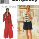 Simplicity Sewing Pattern 7125 Misses Size 20-24 Top Pants Shorts Culottes Split Skirt