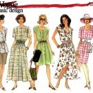 Vogue Sewing Patterns 2879 V2879 Misses 20-24 Easy Basic Dress Top Skirt