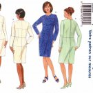 Butterick Sewing Pattern 5628 B5628 Womans Plus Size 22W Fitting Shell Straight Dress