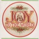 Joy to the World Counted Cross Stitch Kit Wonder Art 5708