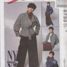 McCall's Sewing Pattern M6733 6733 Misses Size 6 NYNY Jacket Pants Skirt