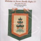 The Silver Needle The Little Fir Tree Lynda Watkins Counted Cross Stitch Embroidery Kit