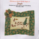 The Silver Needle Jingle Lindy Legener Jill Sandberg Counted Cross Stitch Embroidery Kit