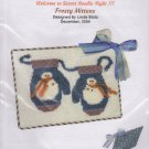 The Silver Needle Frosty Mittens Linda Stolz Counted Cross Stitch Embroidery Kit
