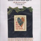 The Silver Needle All My Love to You! Linda Stolz Counted Cross Stitch Embroidery Kit