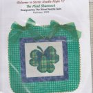 The Silver Needle The Plaid Shamrock Counted Cross Stitch Embroidery Kit