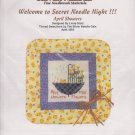 The Silver Needle April Showers Linda Stolz Counted Cross Stitch Embroidery Kit