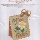 The Silver Needle May Flowers Linda Stolz Counted Cross Stitch Embroidery Kit