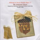 The Silver Needle The Awesome Acorn Linda Stolz Counted Cross Stitch Embroidery Kit