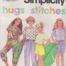 Simplicity Sewing Pattern 7725 Girls Sizes 7-10 Pants Shorts Skirt Top