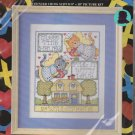 Bless This House Counted Cross Stitch CCS Kit 8 x 10 Design Works #9639 Joan Elliott