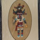 Rare HTF Hopi Kachina #SW4050 Needlepoint Kit Opened Unused