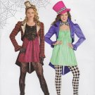 Simplicity Sewing Pattern H0110 Misses Size 8-18 Easy Costume Dress Jacket Vest Hat OOP