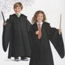 Simplicity Sewing Pattern H0111 Boys Girls Size 3-8 Easy Costume Hogwart Gown Tie OOP