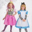 Simplicity Sewing Pattern H0112 Girls Size 3-8 Easy Costume Alice Dress Pinafore OOP