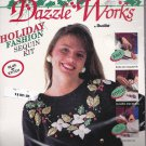 Dazzle Works Bucilla 63573 Easy Holiday Fashion Sequin Kit NEW