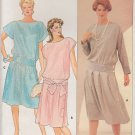 Butterick Sewing Pattern B6373 6373 Misses Size 8 Dresses Sleeve Waist Options
