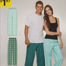 Simplicity Sewing Patterns A1494 Unisex Men's Misses' Size S-XXXL Easy Pull-on Pajama Pants.