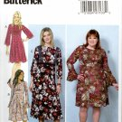 Butterick Sewing Pattern 6481 B6481 Misses Size 8-16 Dress Sleeve Contrast Options