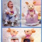 Butterick Sewing Pattern 4162 Baby Room Crafts Bib Photo Frames Kangaroo Caddy