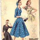 Butterick Sewing Pattern 7615 Misses Size 44 Bust 44 Easy Graceful Dress Flared Skirt