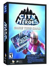 City of Heroes 60 Day Pre-Paid Time Card
