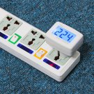 Measure Check Monitor AC Power Supply Socket Digital Voltage Meter Checker Free Shipping Charge